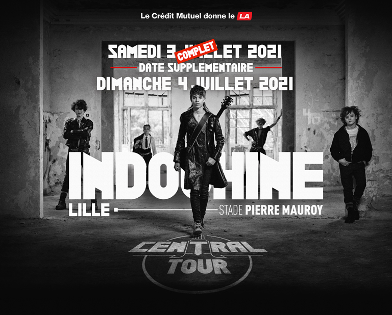 Concert - INDOCHINE