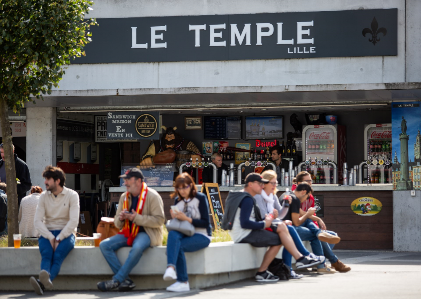 Le Temple - Lille - Stade Pierre Mauroy