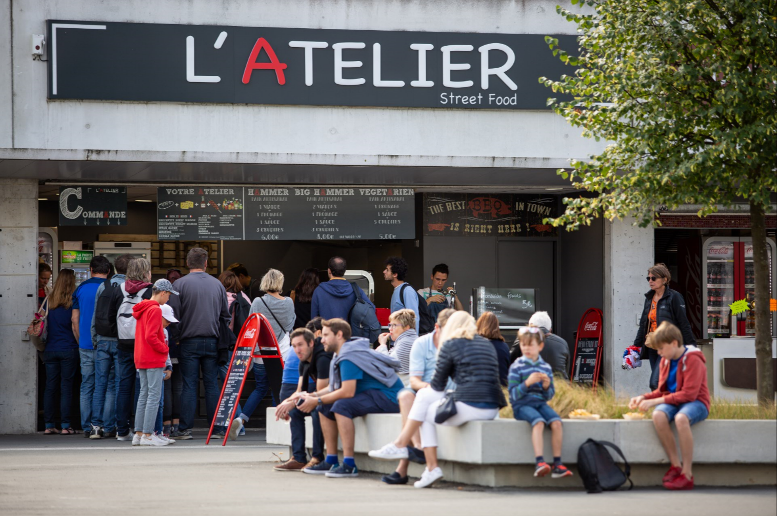 L'Atelier Street-Food Lillois - Lille - Stade Pierre Mauroy